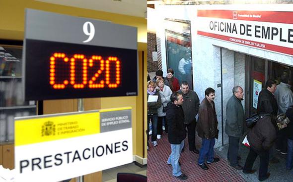 Sellar el paro en Benifairó de les Valls (Valencia)